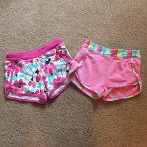 2 Gymgo shorts from Gymboree